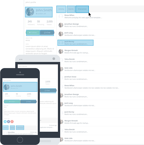application interface design