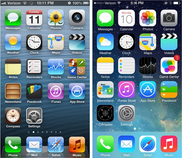 iOS guidelines change