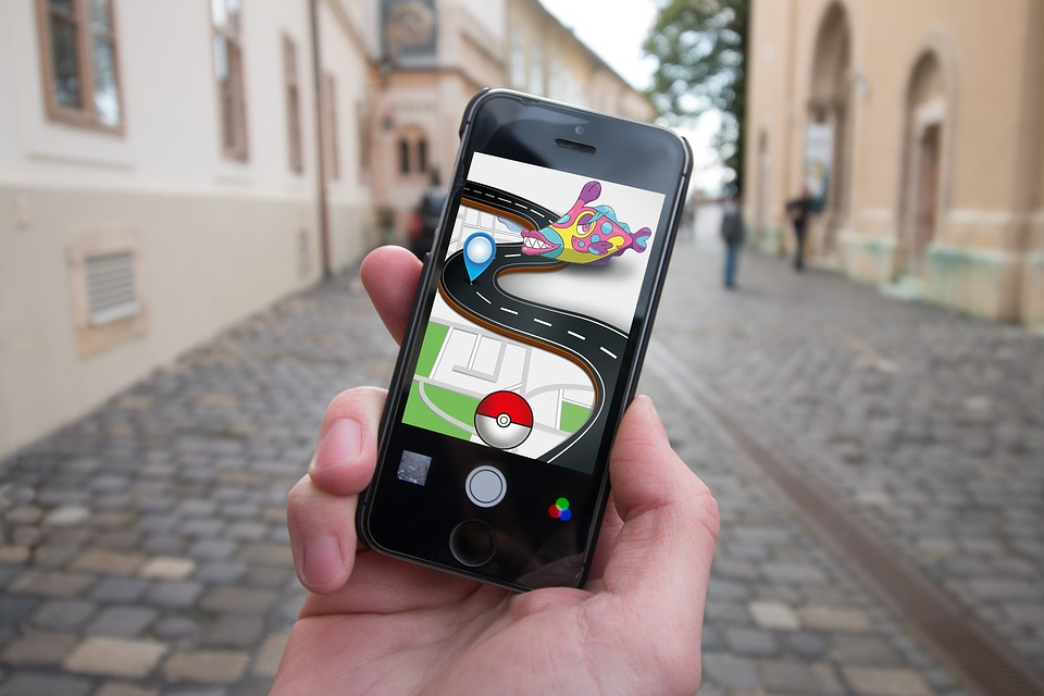 "Augmented Reality Pokemon Wonderland of augmented reality. ""Usual miracle"" in mobile app development"